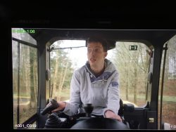 Sean at the Wheel