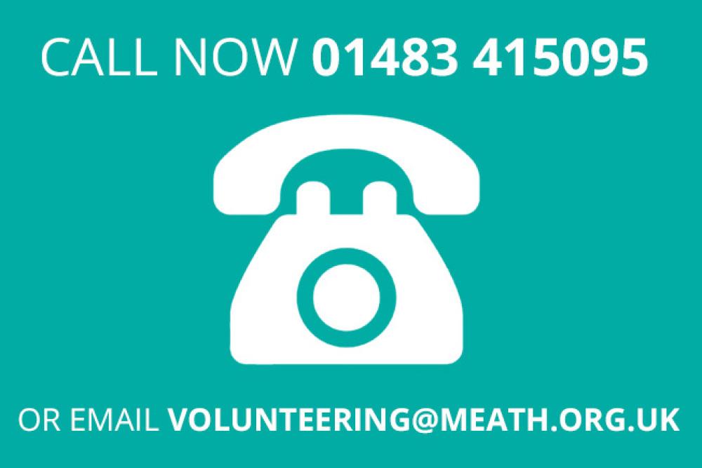 volunteering call now