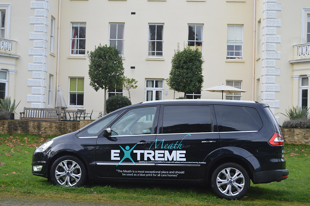 Extreme Logo on the Meath car