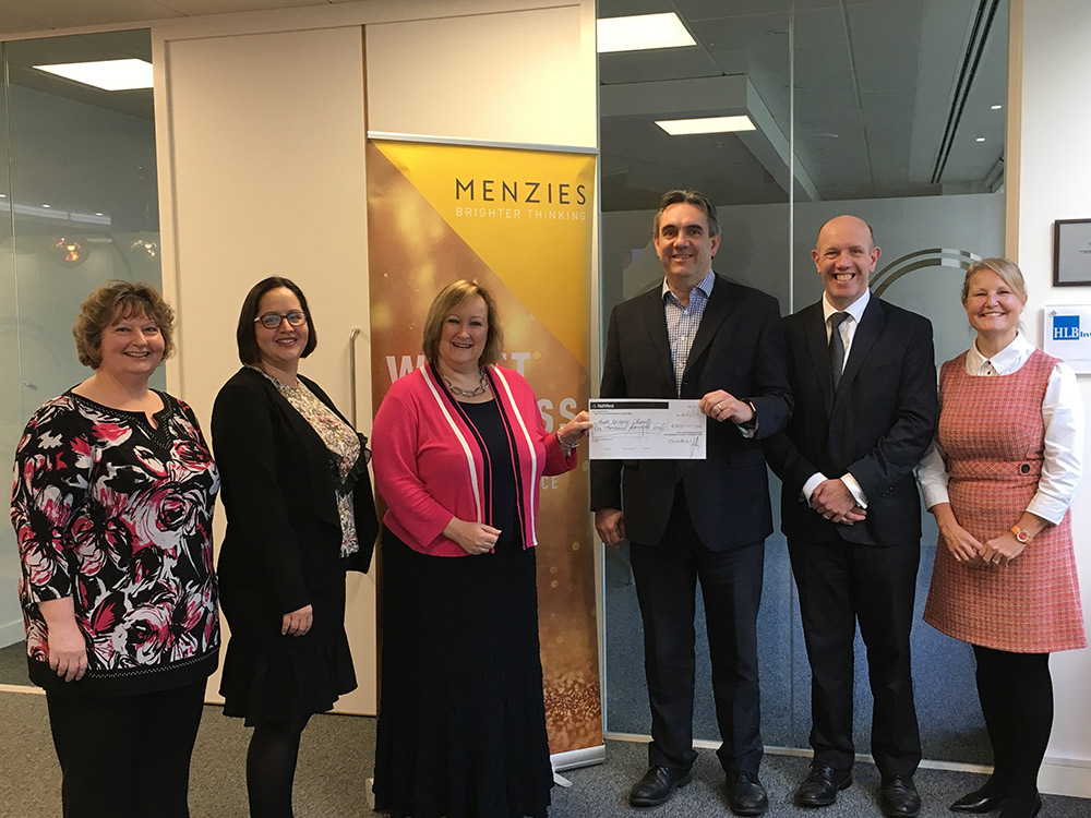 Menzies raise money for The Meath Epilepsy Charity
