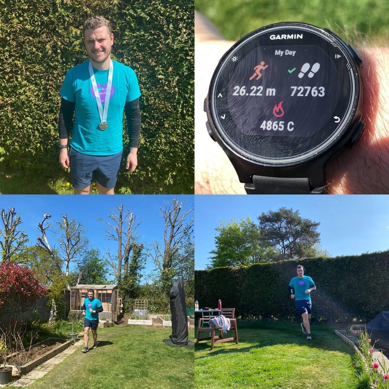 Sam's garden marathon